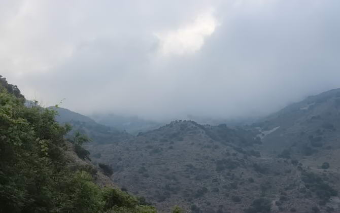 природа Санторіні