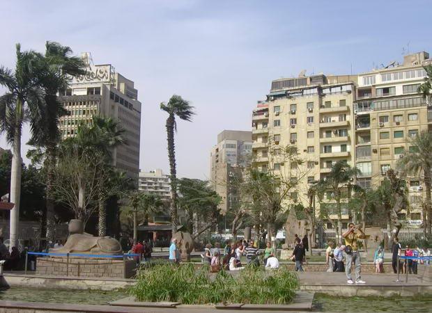 центральні вулиці міста Каїр