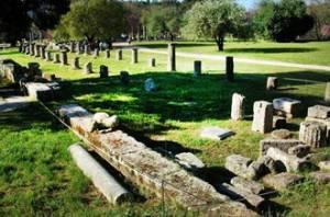Археологічні знахідки на території Древньої Олімпії