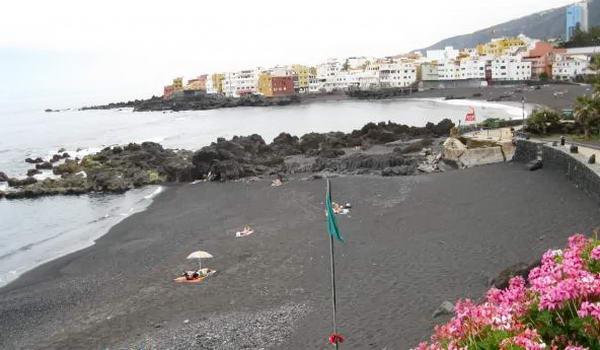 пляж на острові Тенеріфе