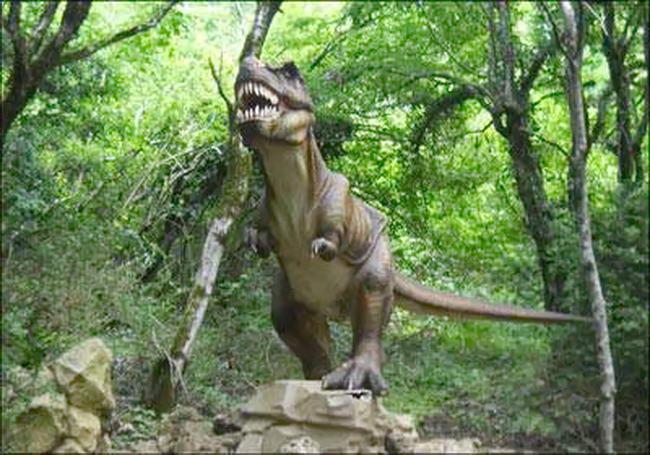 Плато динозаврів в Кутаїсі