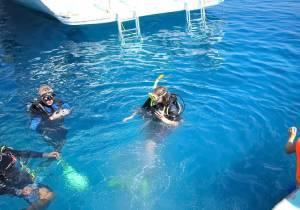 Враження від першого занурення з аквалангом