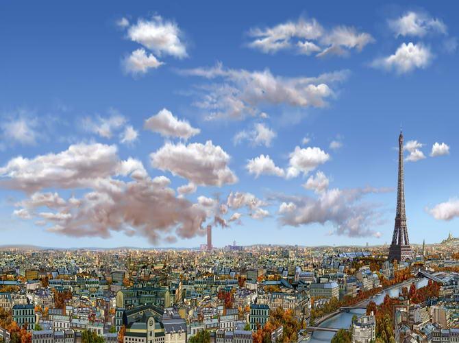 Париж в Broken Sword