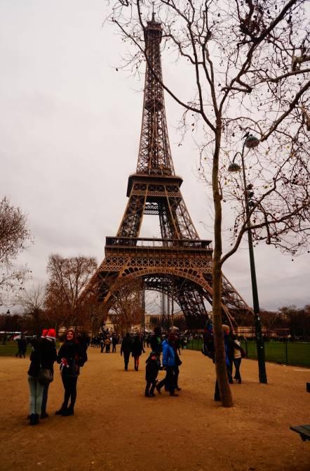 Париж. Фото Ейфелевої Вежі
