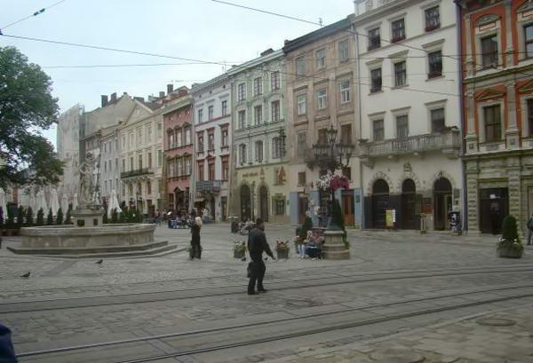 площадь во Львове
