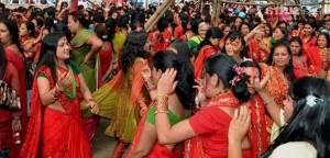 Фестиваль Тідж (TEEJ) в Індії