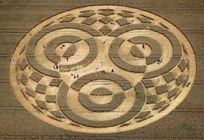 дивний круг в Баварії