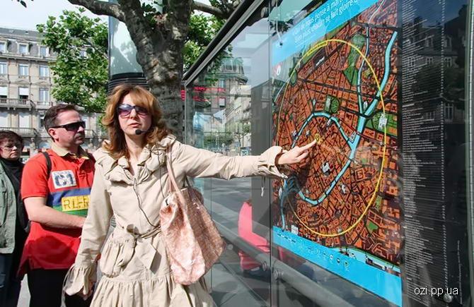 знайомства туристів з сучасним Страсбургом