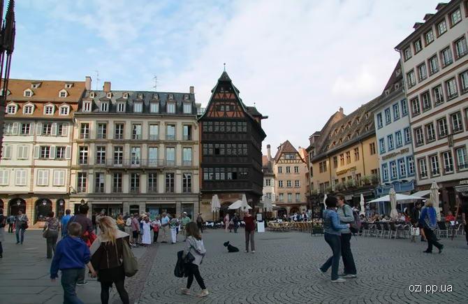 Страсбург. Фото центральної частини міста