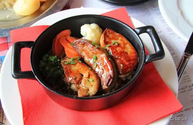 дивовижний вид французьких блюд