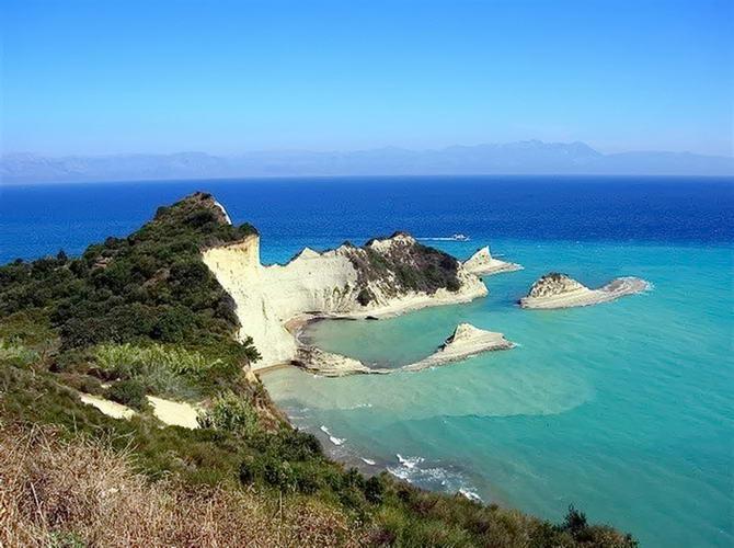 осенние пейзажи Греции