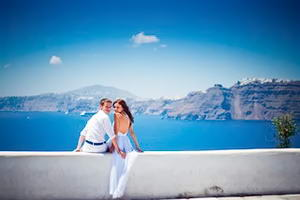 Санторіні - кращий туристичний напрям для медового місяця