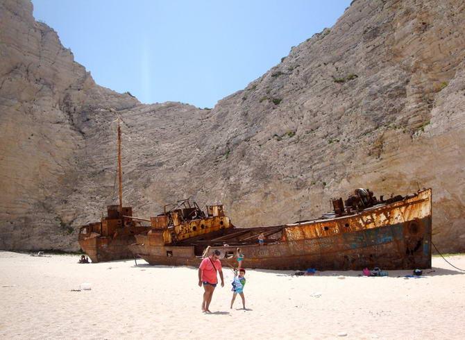 Панайотіс в бухті Навайо