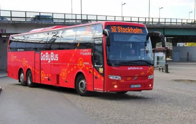 нові автобуси Швеції для туристів