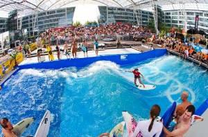 В аеропорту Мюнхена можна зайнятися серфінгом