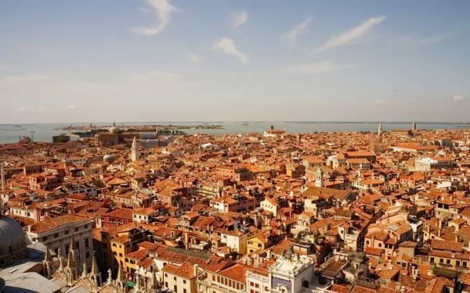 Ось це і є фото Венеції зверху