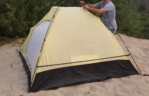 встановлення палатки