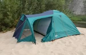 Як поставити палатку?