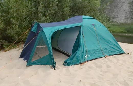 палатка готова для використання