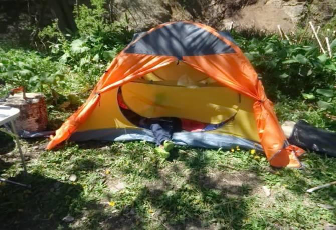 Вибір палатки