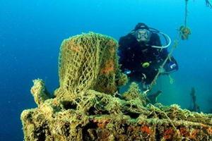 Археологічні дослідження на місці старовинної корабельної аварії 16 віків на Закінтосі