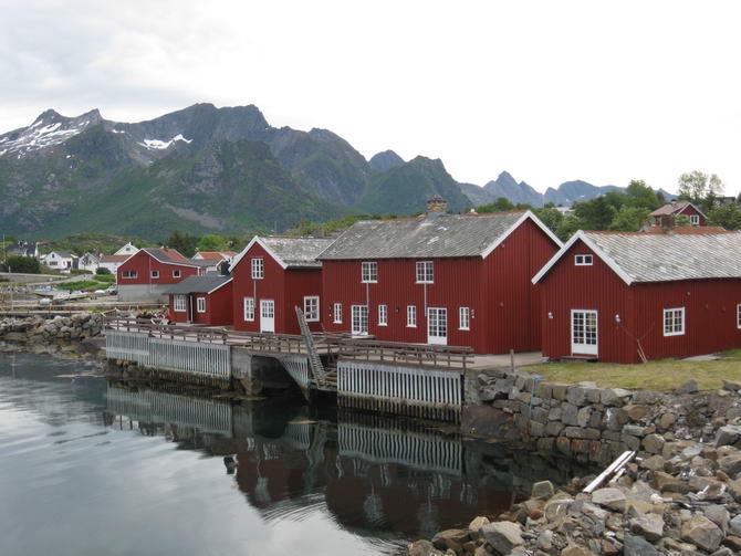 Норвегия. Рыбацкая деревня