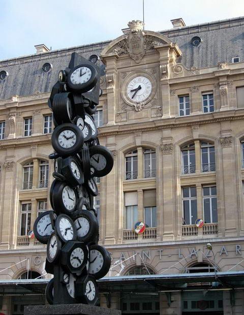 Париж. Городские часы