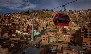 канатна дорога у Болівії