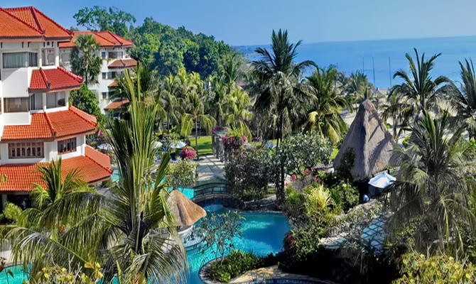 отель Grand Mirage Resort Thalasso Bali