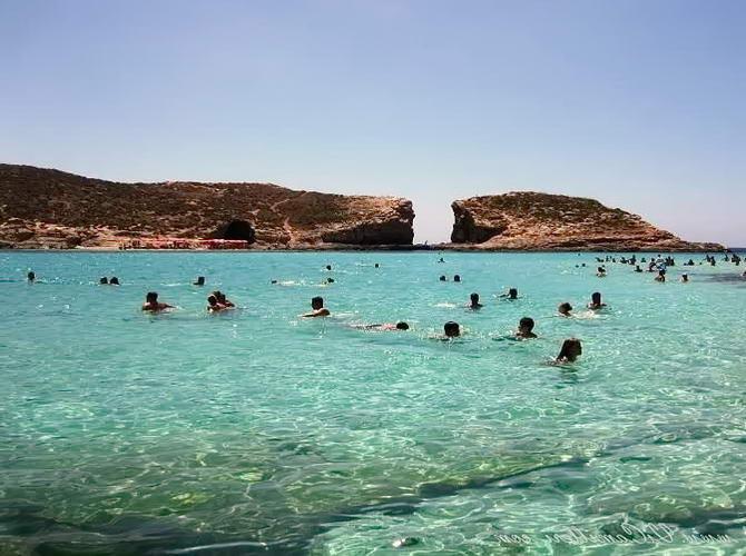 Мальта. Голубая Лагуна