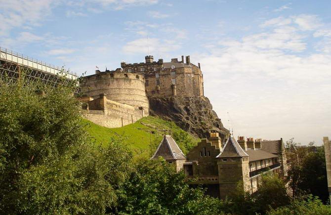 Едінбурзький замок