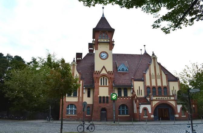 будівля станції в Берліні