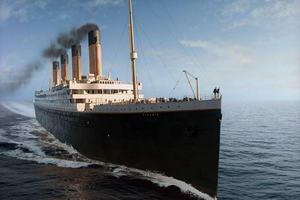 макет Титаніка у Іспанії