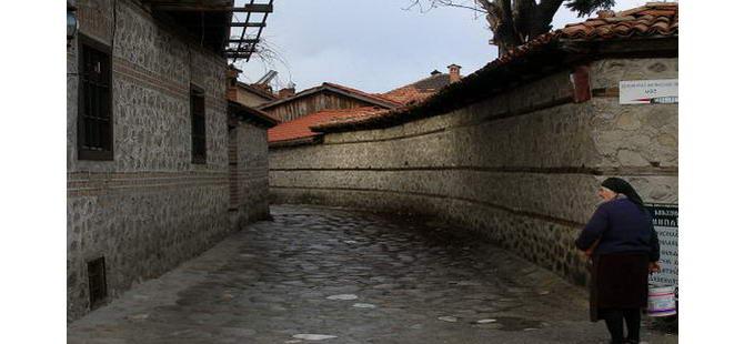 Стара вуличка у Банско