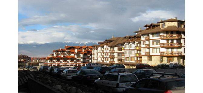 Сучасні житлові комплекси у Банско