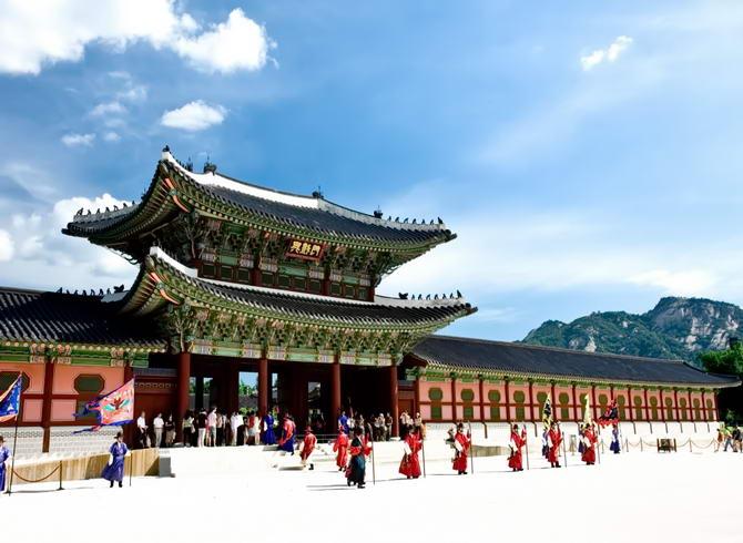 дворцовый комплекс Кенбоккун