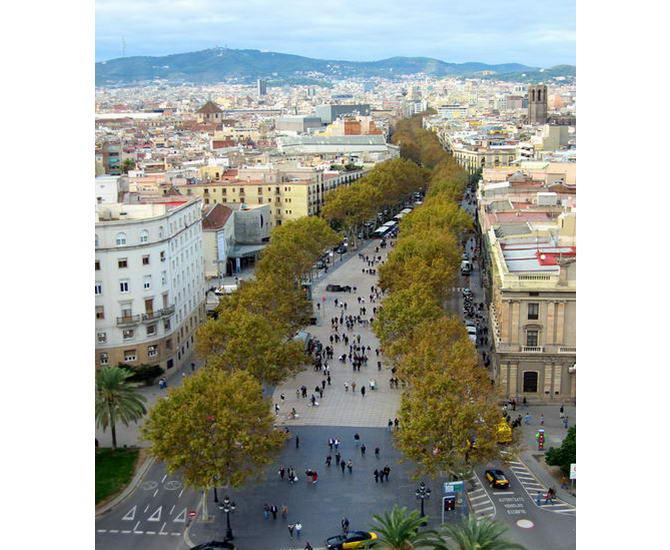 площа Ла-Рамбла в Барселоні
