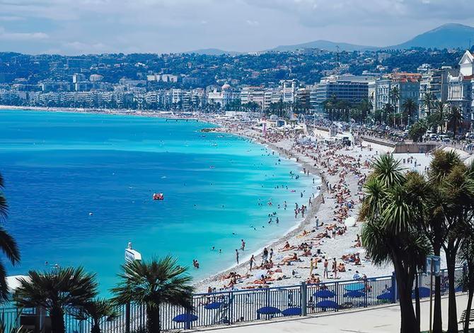 Франція. Блакитний берег