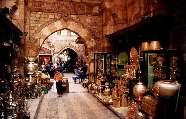 Базар ремісників Хан-ель-Халілі