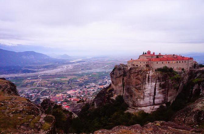 Метеори: Монастир Святого Стефана