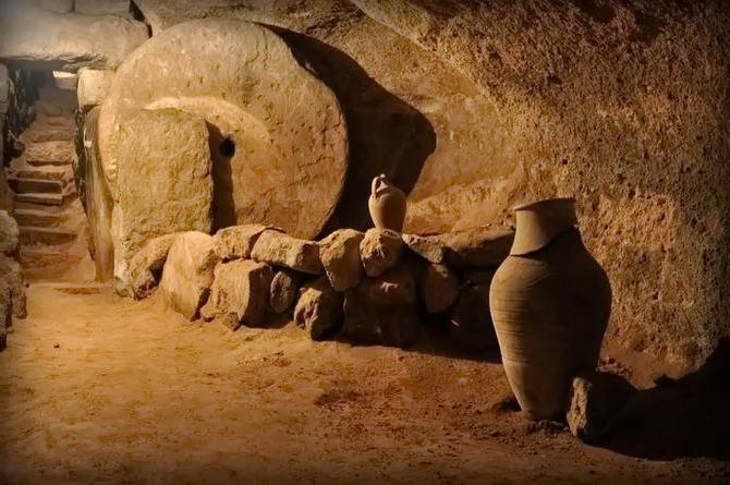 Підземне місто в Туреччині