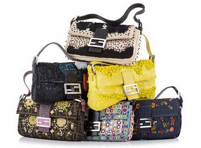 брендовые сумки Fendi