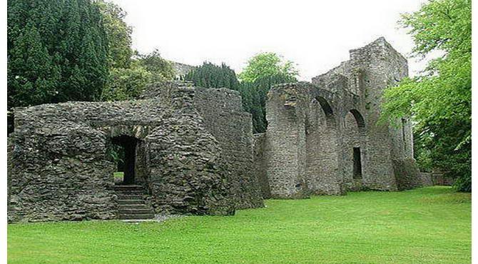 Ирландия. Руины старинного замка Мэйнут