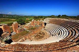 Римський Одеон в древньому Нікополі буде відновлений до червня 2015 року