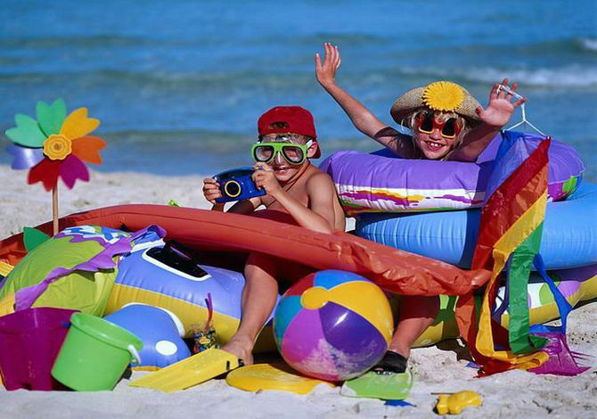 Пляжний відпочинок в Італії