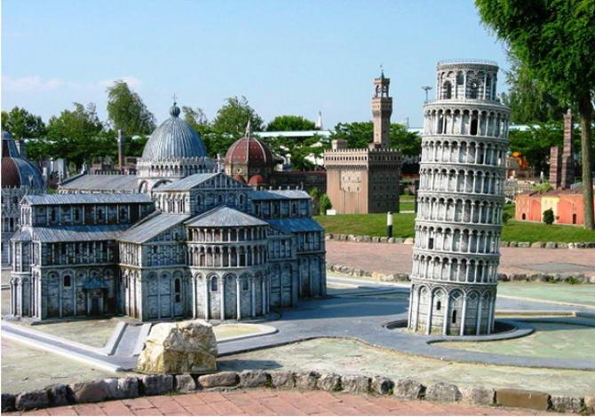парк *Італія в мініатюрі*