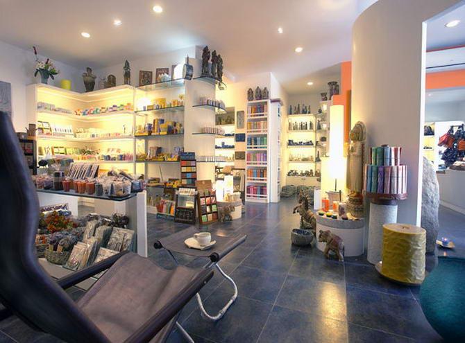 магазин в місті Ауровіль