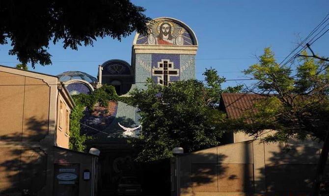 Евпатория. Фото на улице Демышева
