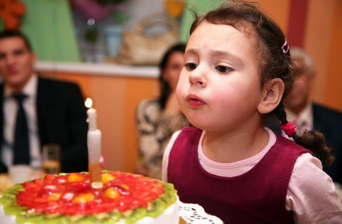 день рождения в домашних условиях
