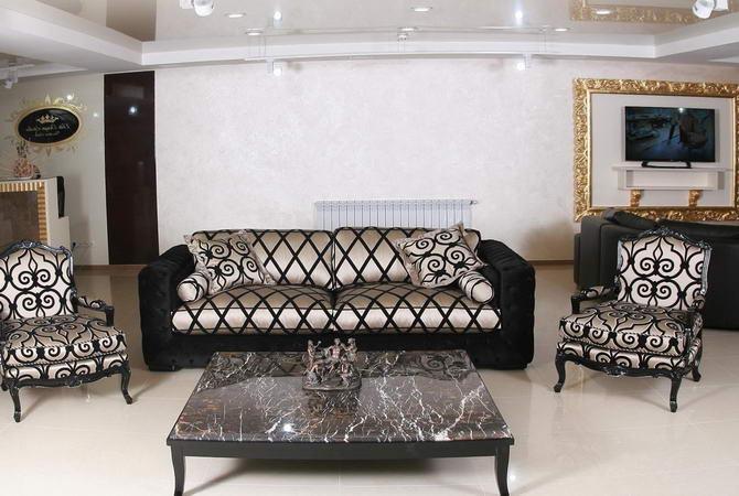 Комплект м'яких меблів з журнальним столиком від Zanaboni